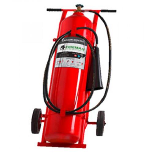 FIREMAN ถังดับเพลิง ชนิดก๊าซ CO2 ขนาด 50 ปอนด์