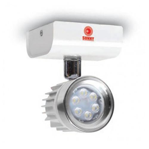 SUNNY Remote Lamp NC LED MR16 1x9 w. Battery 24V. Model. RNC 24-109LED