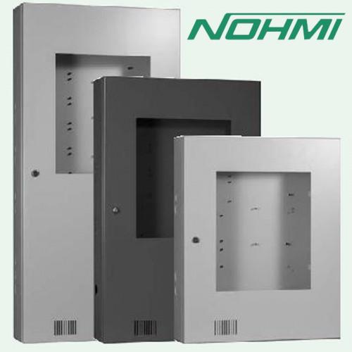 ตู้เหล็กประกอบแผง 1-12 Loops รุ่น ECL N3060-L-NW+TEL JACK ยี่ห้อ NOHMI