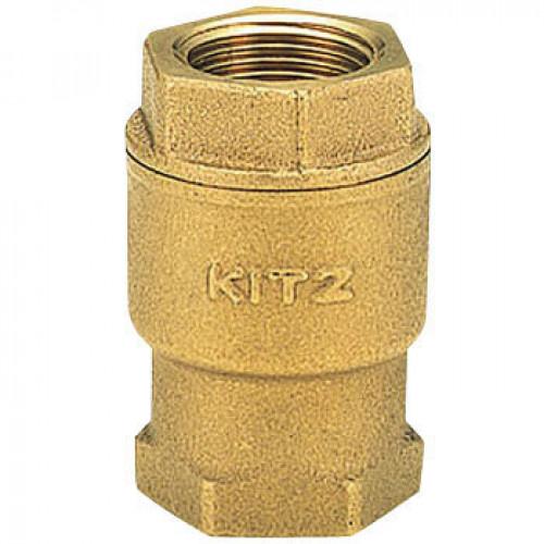 KITZ Bronze Check Valve W.O.G. 10K Psi. Thread End to BS21 Size 1/2 Inch. model. RF*1