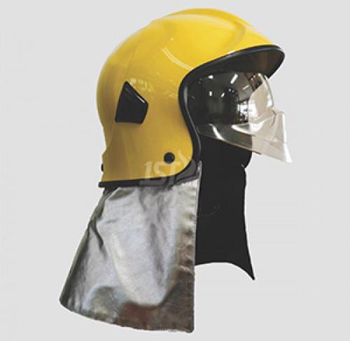 หมวกดับเพลิง  FH199 หมวกดับเพลิงทรงเต็มใบ พร้อม Goggle ด้านใน  ยี่ห้อ IST