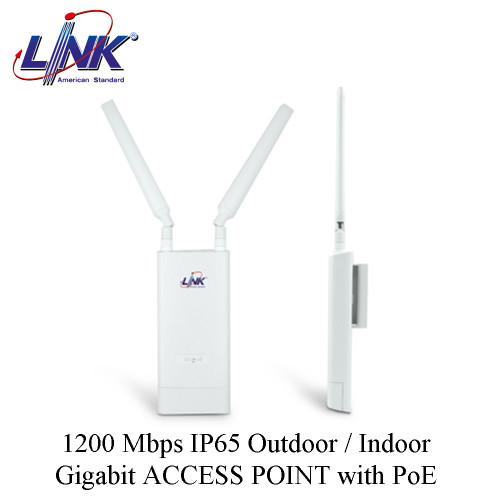 LINK 1200 Mbps IP65 Outdoor / Indoor Gigabit ACCESS POINT with PoE Model. PA-3220