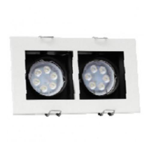 SUNNY Down Light LED MR16 2x12 w. Battery 24V. Model. DL-SS 24-212LED