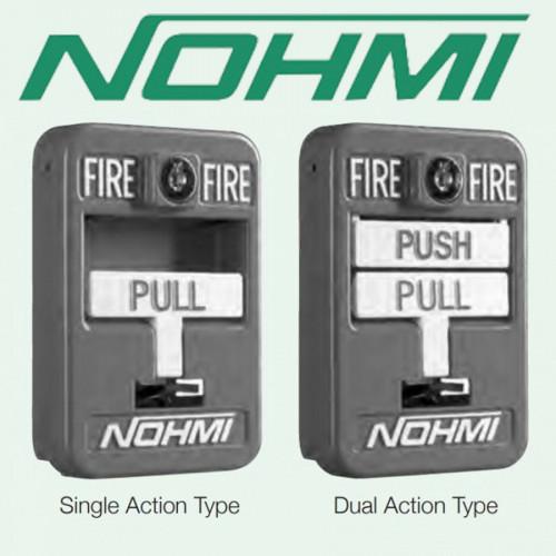 Addressable Manual Pull Station Single Action Lead Wire Connection รุ่น FMR01U-BK2 ยี่ห้อ NOHMI