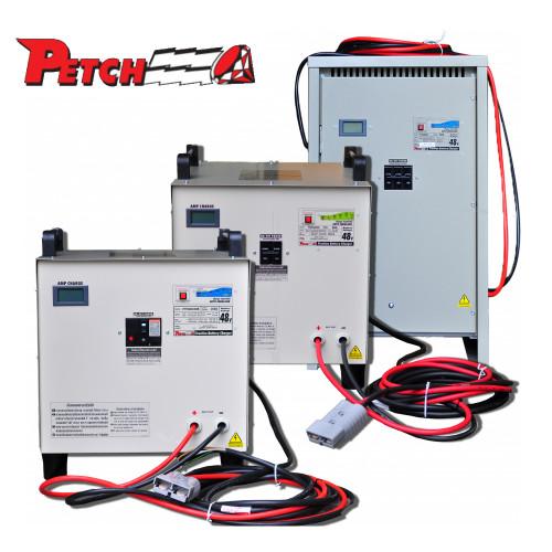 PETCH หม้อแปลงชาร์จอัตโนมัติ สำหรับโฟคลิฟท์ 24V-100A แบต 600-800 Ah รุ่น FT24100B