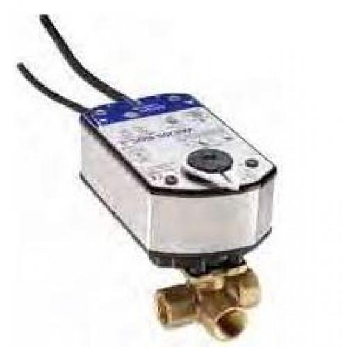 JOHNSON CONTROL Spring Return Actuator for Valves, Proportional, 24 V AC/DC model.VA9208-GGA-1