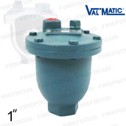 เเอร์เวนต์ระบายอากาศท่อดับเพลิง Diameter ท่อเข้า 1/2 นิ้ว รุ่น MV-15A ยี่ห้อ VALMATIC มาตฐาน UL/FM