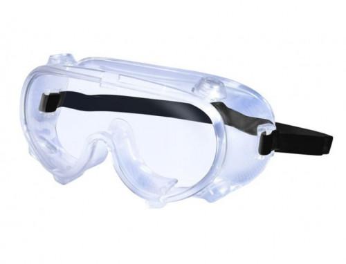 แว่นครอบตานิรภัย ป้องกันสารเคมี พร้อมวาล์ว รุ่น 3000 ยี่ห้อ YAMADA