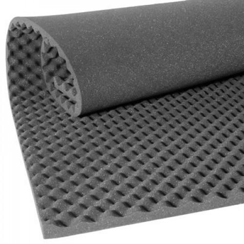 ฟองน้ำรังไข่ซับเสียง ( Convoluted Acoustic Foam Panel ) ขนาด 125x200 เซนติเมตร