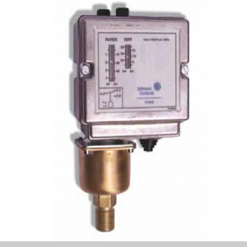 JOHNSON CONTROL SPDT Pressure Switch for Water, -2 - 10 bar Model. P48AAA-9130