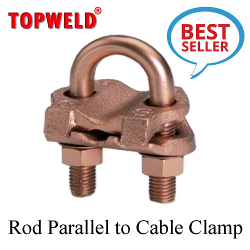 TOPWELD Rod Parallel to Cable Clamp 5/8