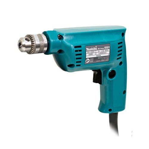 MAKITA สว่านไฟฟ้า 1/4 นิ้ว เสื้อเครื่องอลูมิเนียม กำลังไฟฟ้า 230W รุ่น 6501 J