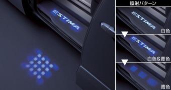 LED Projector step illumination