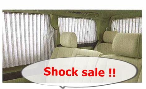 Sold out !  sale ชุดผ้าม่าน Alphard10 ของแท้ ! ของหมดแล้วจ้า!