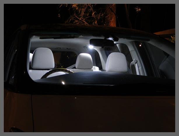 LED white room lamp ไฟในห้องโดยสารแสงสีขาว เจิดจ้าแจ่มจรัส !