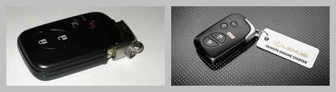 Smart Key รีโมทคอนโทรล สำหรับ LEXUS RX270, RX350, RX450h