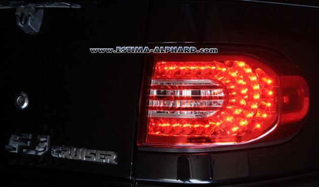 ชุดไฟท้าย LED FJ CRUISER 4แบบ 4สไตล์ สวยทุกแบบ เลือกไม่ถูก หลับตาจิ้มเอา!