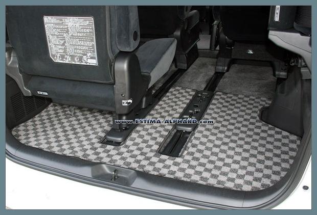 Cargo mat ... พรมปูพื้นที่เก็บของด้านท้าย