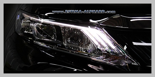 Daylight DRL for New Harrier
