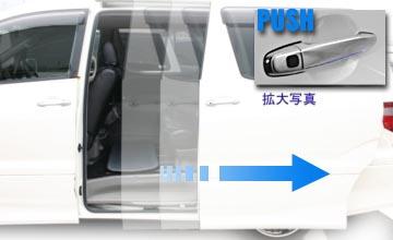 Push slider ปุ่มกดเปิดประตูสไลด์ซ้าย-ขวา item สุดยอดแห่งความสะดวกสบาย