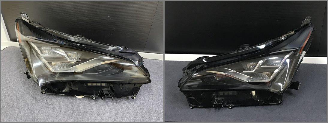 ไฟหน้าคู่ซ้ายขวาของแท้ Lexus NX300h