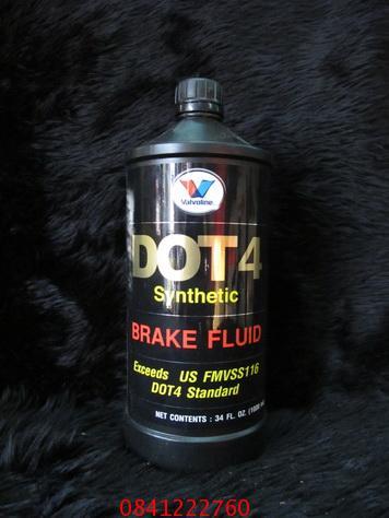 Vavoline น้ำมันเบรค DOT4  เกรดซินเทติค ขนาด 1 ลิตร