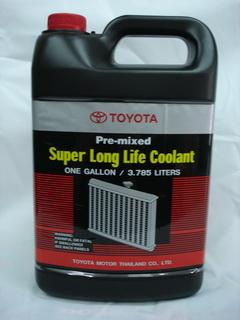 น้ำยาหม้อน้ำ Toyota  3.785 ลิตร