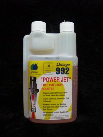 Omega 992 Power Jet น้ำมันทำความสะอาดหัวฉีด 470ml