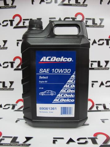น้ำมันเครื่อง ACDelco Select 10W-30 ขนาด 4 ลิตร