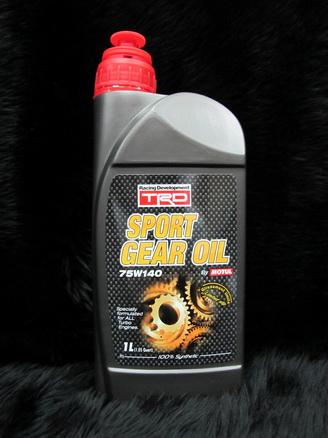 น้ำมันเกียร์ Motul TRD Sport Gear oil 75W-140 ขนาด 1 ลิตร