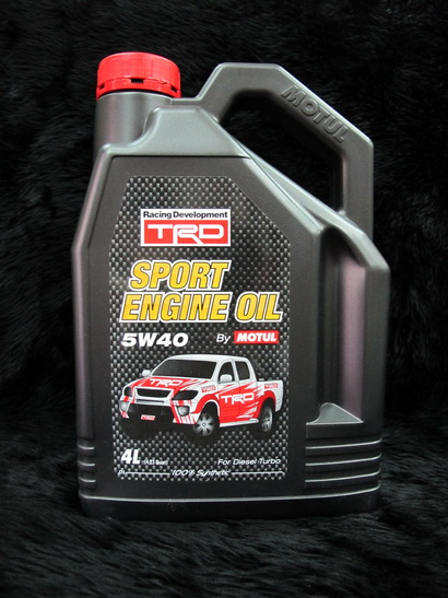 Motul TRD Diesel Turbo 5W-40 1ชุดมี 7 ลิตร
