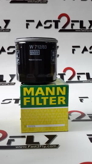Mann filter กรองเครื่อง Toyota 1J 2J 1G Vigo Fortuner