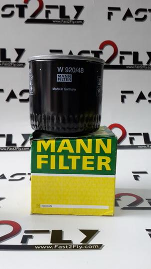 Mann filter กรองเครื่อง Nissan Navara