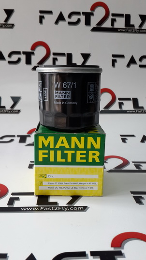 Mann filter กรองเครื่อง Nissan NEO Tida Presia March