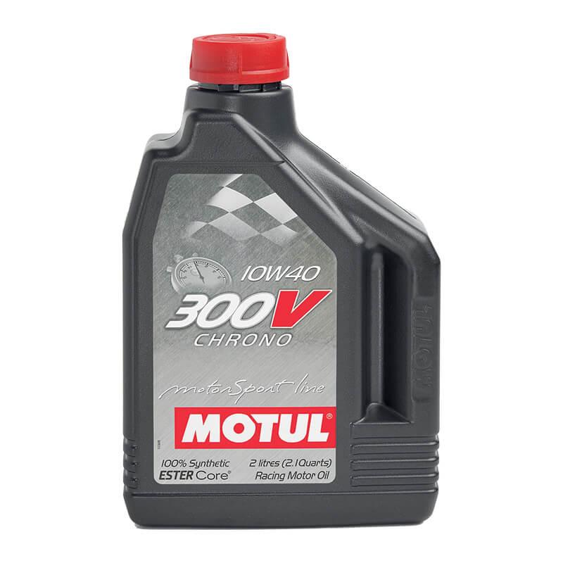 Motul 300V 10W-40 ขนาด 2 ลิตร