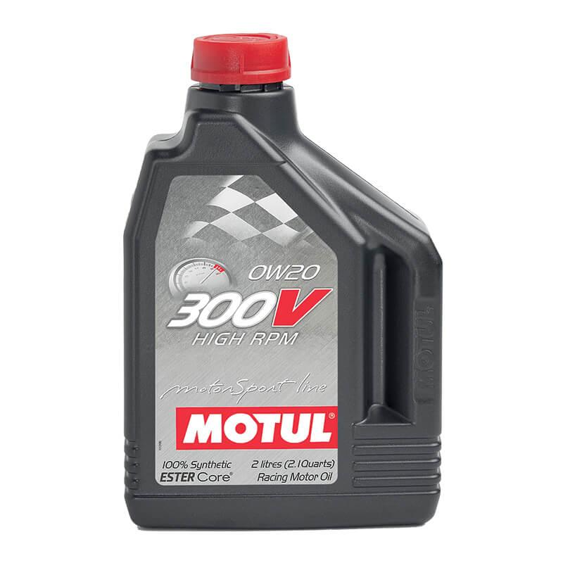 Motul 300V 0W-20 ขนาด 2ลิตร