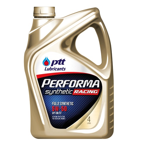 PERFORMA RACING SYNTHETIC SAE 5W-50 4L