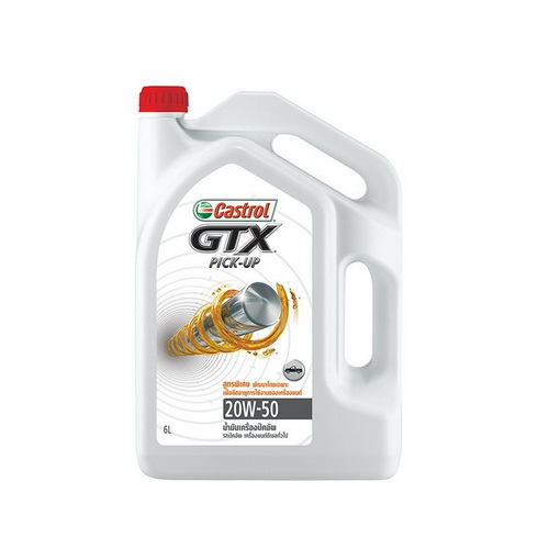 CASTROL GTX PICK UP SAE 20W-50 API CF-4 6L