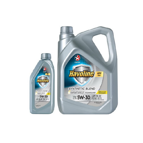 HAVOLINE SYNTHETIC BLEND SAE 5W-30 5L