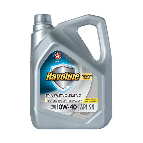 HAVOLINE SYNTHETIC BLEND SAE 10W-40 4L