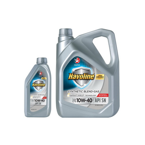 HAVOLINE SYNTHETIC BLEND GAS SAE 10W-40 5L