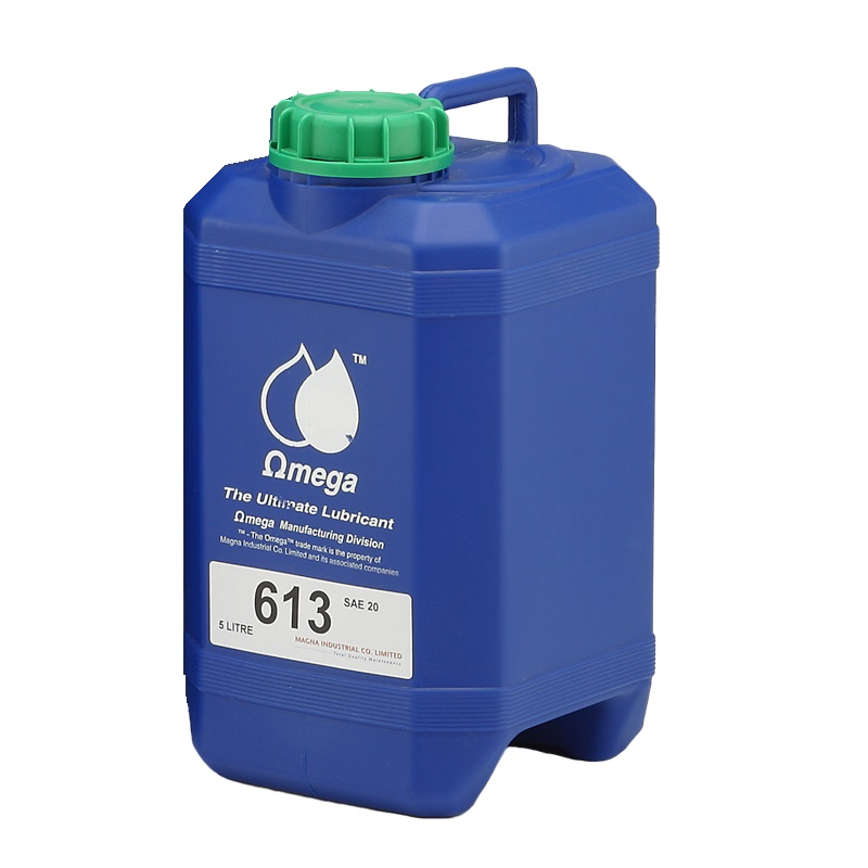 Omega 613 SAE40 น้ำมันหล่อลื่นสำหรับปั๊มลมลูกสูบ ขนาด 5 ลิตร