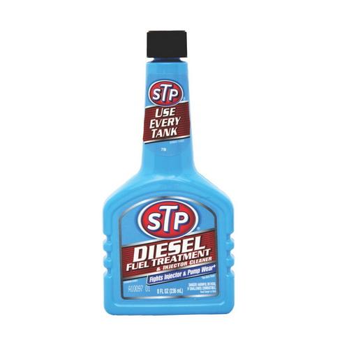 STP น้ำยาล้างและบำรุงรักษาหัวฉีดดีเซล ขนาด 236 ml(8oz)