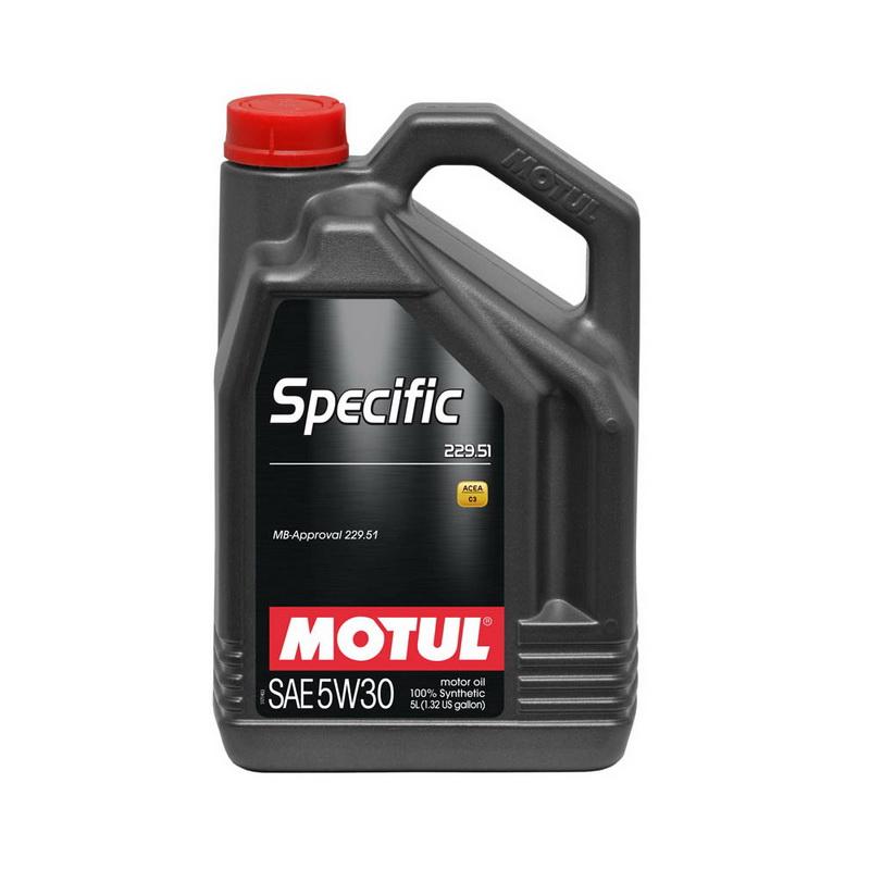 Motul Specific 229.51 5W-30 สำหรับ Benz โดยเฉพาะ ขนาด 5 ลิตร
