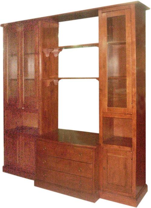 ตู้โชว์/ตู้เก็บหนังสือ (Libraly-2)