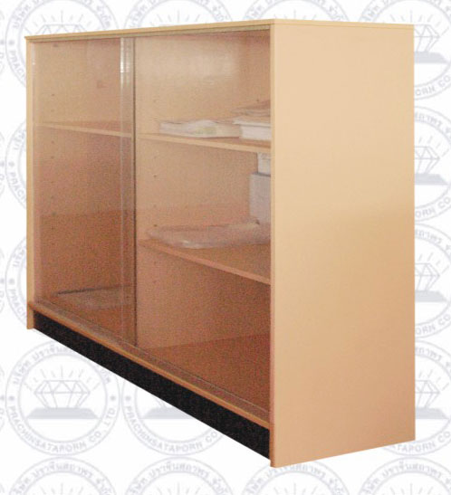 PCB-010-SO8 ตู้โชว์กระจก