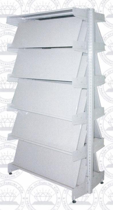 SST-001-E10 ตู้ชั้นเอียงใส่หนังสือ