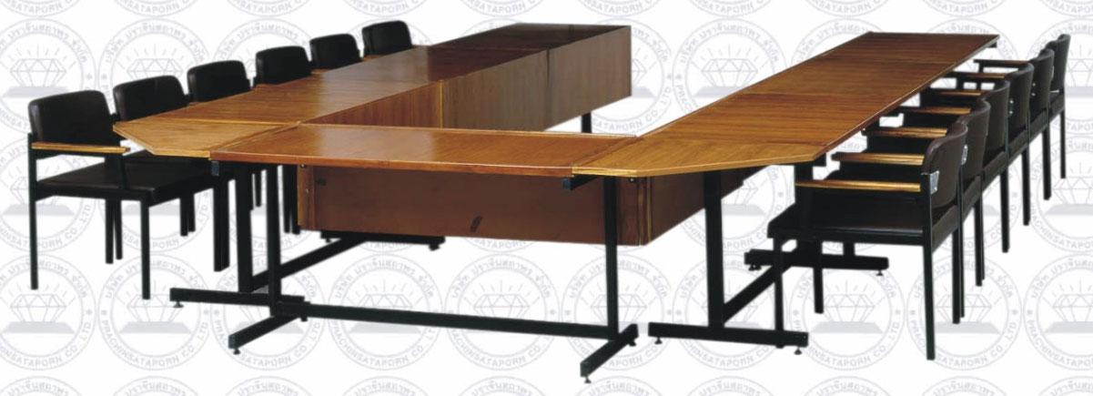 โต๊ะประชุมขนาด 12 คน พร้อมเก้าอี้