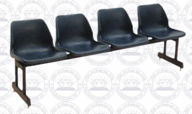 SCH-003- 00 เก้าอี้พักคอย 4 ที่นั่ง