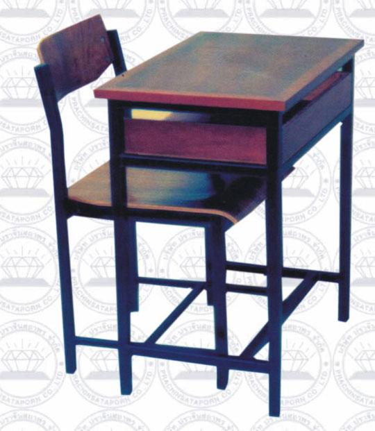โต๊ะเก้าอี้นักเรียนชนิดโครงเหล็ก A4